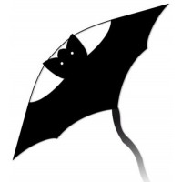 latawiec-little-bat-black