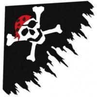 Delta Jolly Roger BLACK