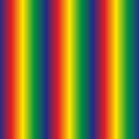 rainbow-polyester