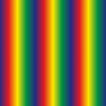 Rainbow Polyester