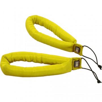 Uchwyty CIM, wyściełane, żółte